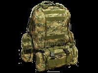 Рюкзак модульный с сумкой, 2 подсуками: для рыбака, охотника, грибника, туриста, военного, дачника