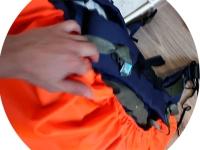 Яркий чехол для рюкзака, сумки, кофра