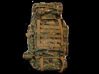 Рюкзак 80 литров камуфляжный, единый объём, 4 кармана